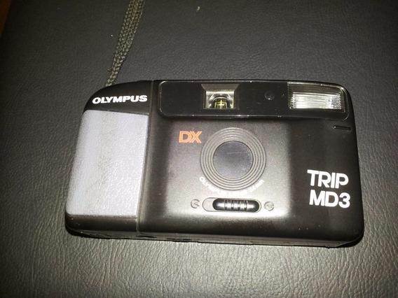 Câmera Antiga Olympus Dx - Trip Md3