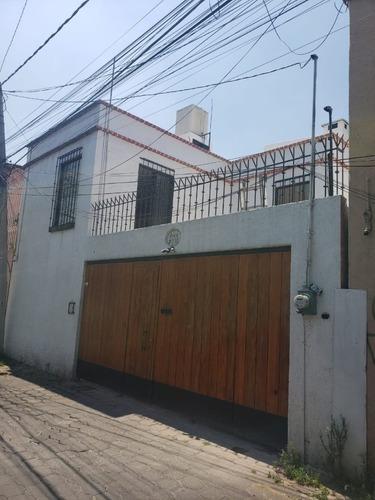 Amplia Casa A 1/2 Cuadra De Miguel Ángel De Quevedo Y 5 Min Centro De Coyoacán
