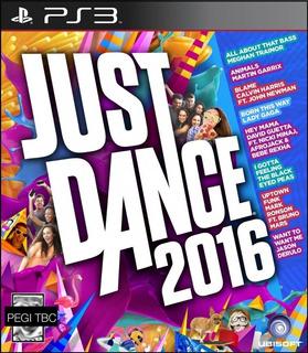Just Dance 2016 Ps3 Digital Entrega Inmediata