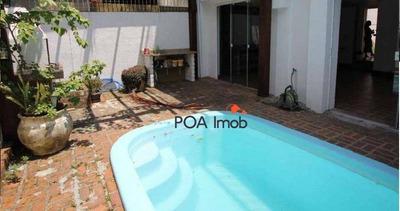 Casa Com 4 Dormitórios Para Alugar, 185 M² Por R$ 6.600/mês - Boa Vista - Porto Alegre/rs - Ca0515