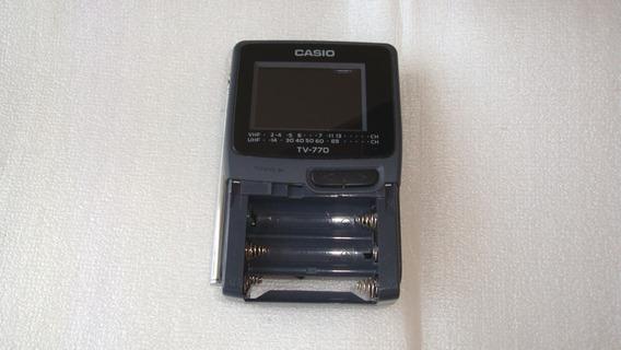 Mini Tv Lcd Pocket Color Tv-400 Casio - Quebrada Ret Peças