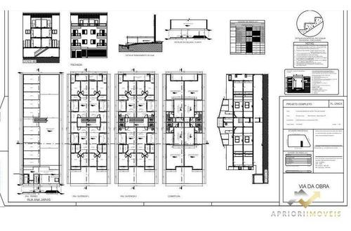 Cobertura À Venda, 106 M² Por R$ 393.000,00 - Jardim Paraíso - Santo André/sp - Co0786