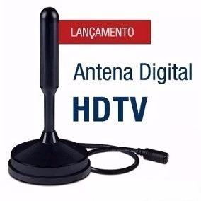 Antena Digital Interna E Externa Hdtv 3.5dbi 5 Metros