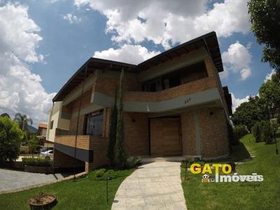 Casa Para Locação Em Barueri, Parque Dos Camargos, 3 Dormitórios, 3 Suítes, 3 Banheiros, 8 Vagas - 18177