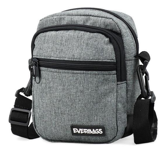 Shoulder Bag Mescla Cinza Everbags