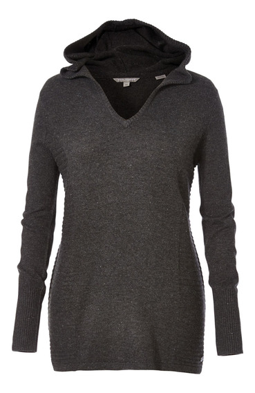 Sweater Mujer Highland Hoody Gris Royal Robbins By Doite