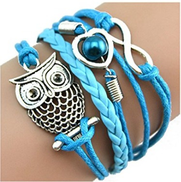 Bracelete Amor Infinito Azul - Glam0063
