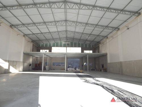 Imagem 1 de 6 de Galpão Para Alugar, 834 M² Por R$ 29.850,00/mês - Centro - São Bernardo Do Campo/sp - Ga0416