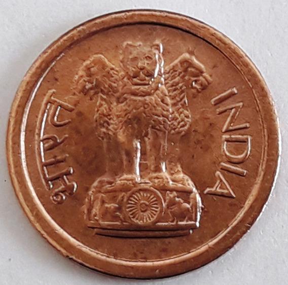 India Moneda De 1 Naya Paisa Del Año 1961