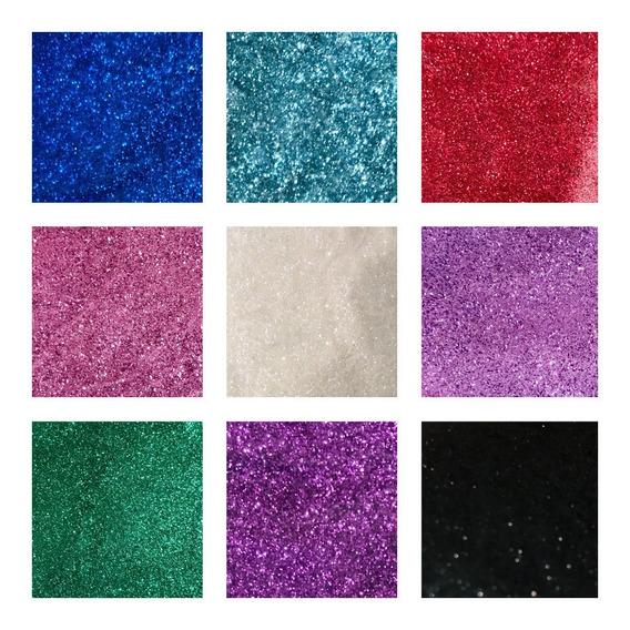 Glitter Gibre Purpurina 1 Kilo Exc Calidad Vs Col Promo