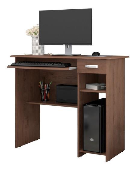Mesa De Computador Com 1 Gaveta Viena - Ej Móveis