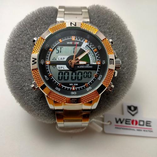 Relógio Weide Original - Wh 1104 + Garantia De 1 Ano