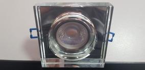 Spot Embutir Dicroica Em Cristal Legítimo 9x9cm - Blest Luxo