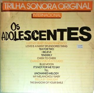 Disco Lp Trilha Sonora Original Os Adolecentes - Epic