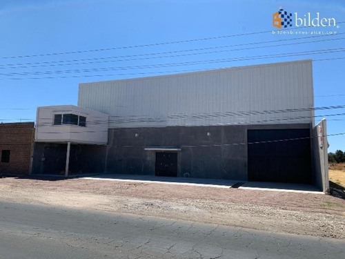 Imagen 1 de 7 de Bodega Industrial En Renta Salida Mezquital Durango