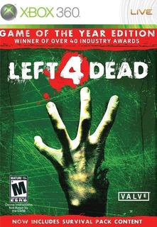 ..:: Left 4 Dead ::.. Para X Box 360 En Game Center