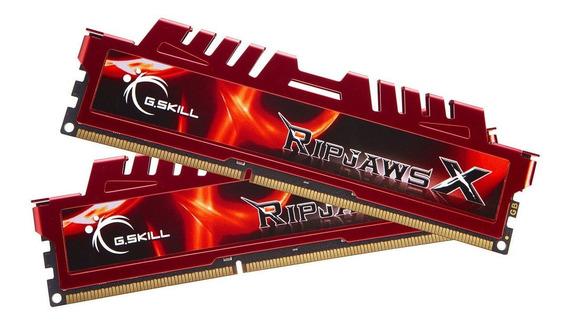 Memoria Ram 8gb G.skill Ripjaws X Series (2 X 4gb) 240-pin Ddr3 Sdram 1600 Mhz Pc3 12800 (f3-12800cl9d-8gbxl)