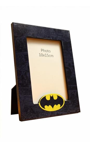 Preço Imbativel ! Porta Retrato Batman - 10cm X 15cm