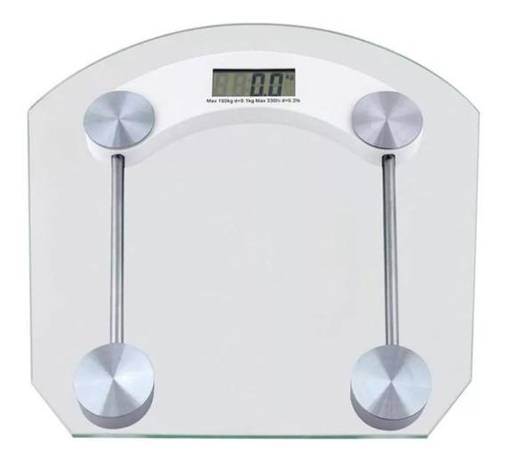Peso Balanza Digital Personal 180 Kg Vidrio Templado Bascul