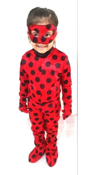 Disfraz De Lady Bug Para Niña Fiestas Eventos