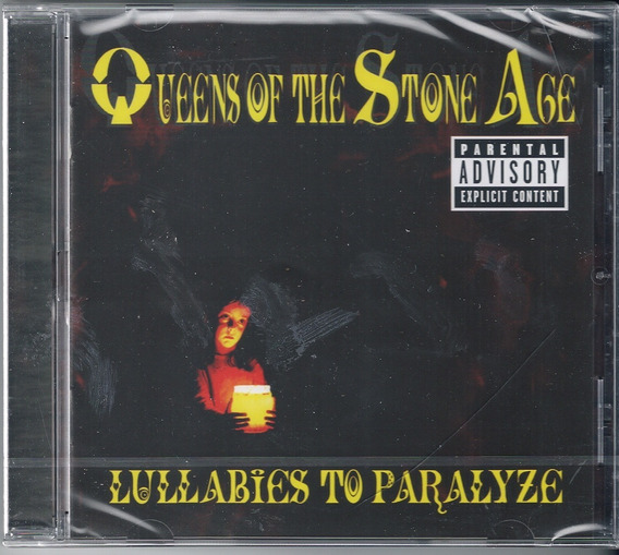 Queens Of The Stone Age - Lullabies To Paralyze ( Cd, 2005 )