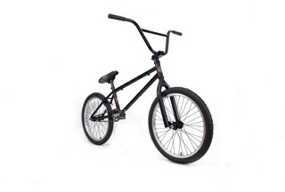 Bicicleta Bmx Fad ¡negro Mate! Paseo ¡economica!