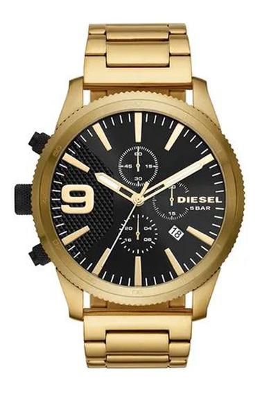 Relógio Diesel Masculino Gold Dz4488/1dn