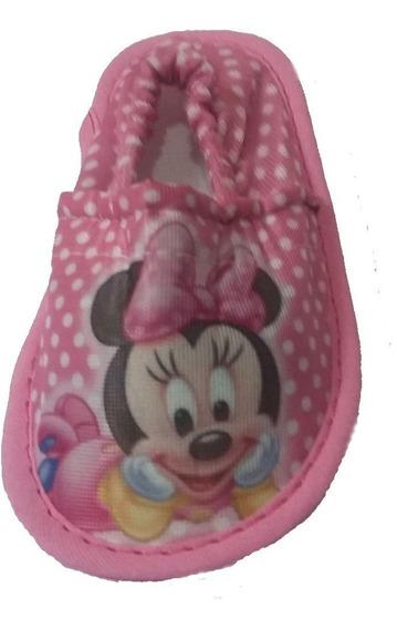 Pantufla Cerrada Bebe Personaje Infantil Directo Fabrica X20