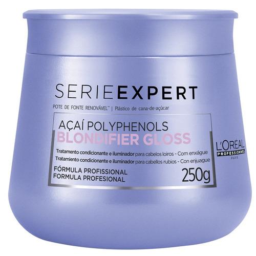 Imagem 1 de 1 de Máscara L'oréal Professionnel Blondifier Gloss - 250 G