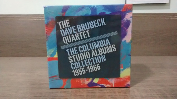 Dave Brubeck Quartet Studio Albums Collection Box C/ 19 Cds
