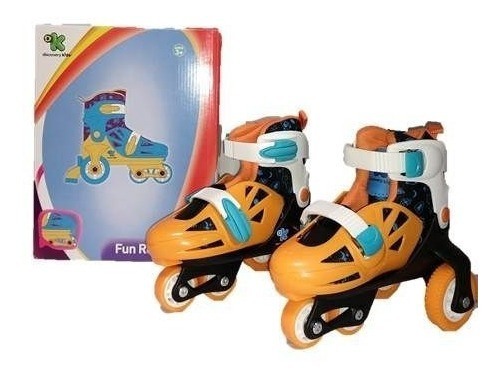 Rollers Patines 2 Ruedas Traseras Discovery Kids Talle 27-30