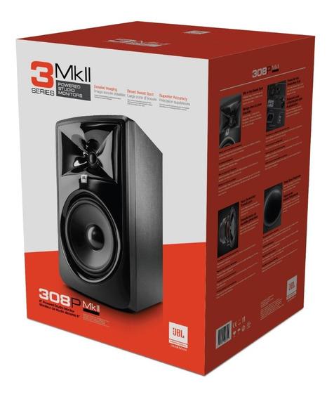 Par Monitores, Caixa Jbl 308p Powered Studio Monitor Kemper