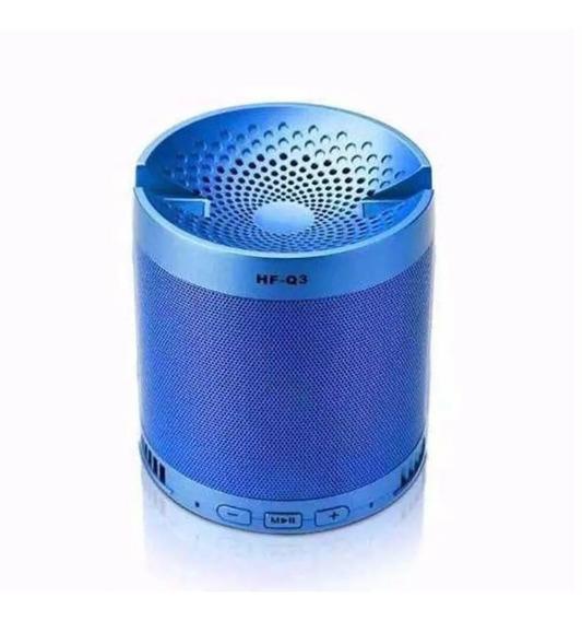 Caixa Som Musica Q3 Caixinha Smartphone Bluetooth Usb Dock