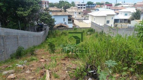 A Imobiliária Rio Litoral Oferece Para Venda Terreno No Bairro De Costa Azul- Rio Das Ostras - Te0229