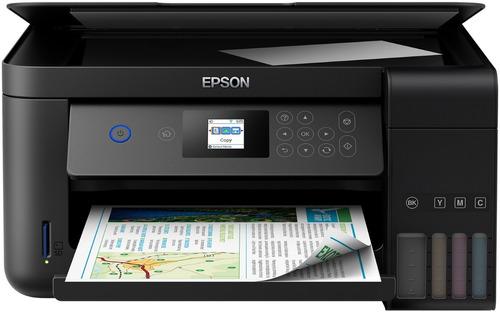 Impresora Multifuncional Epson Ecotank L4160 Inalámbrica
