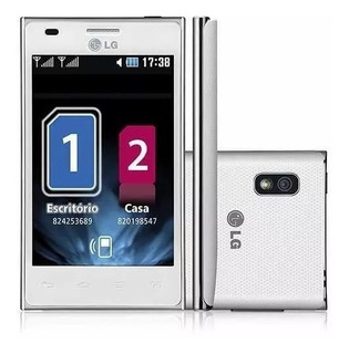 Lg Optimus L5 E615 Dual Branco 2 Chips Android 5mp 3g Wifi