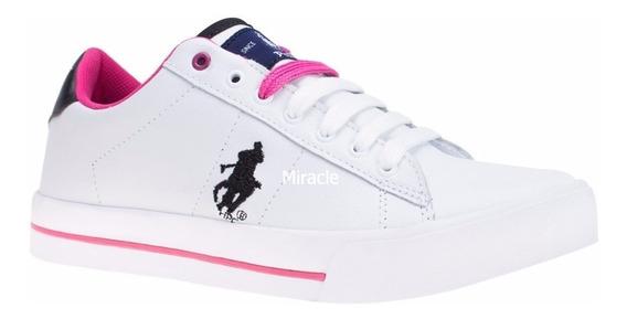 Tenis Casual Blanco Hpc Polo Spbq 31043254