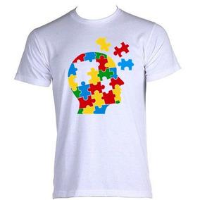 e8290b8f00 Camisetas Personalizadas Autismo - Camisetas Manga Curta no Mercado ...