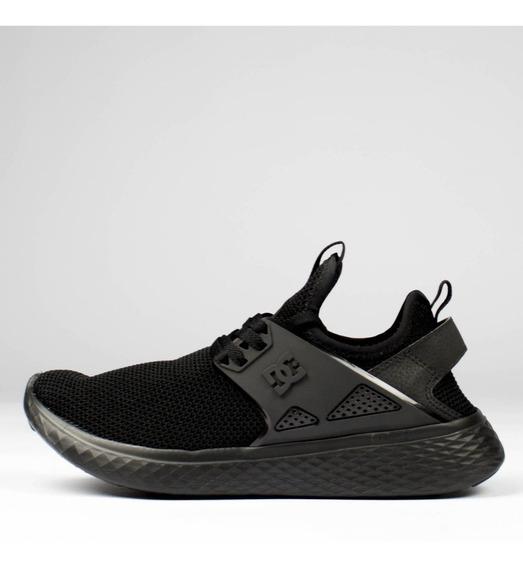 Tênis Masculino Dc Shoes Meridian Preto Inteiro Original