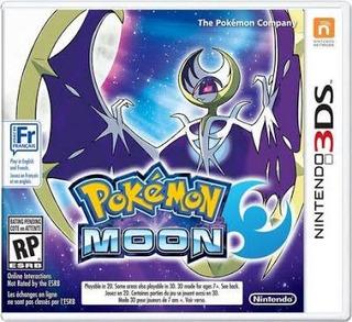 Pokemon Moon Nintendo 3ds Seminuevo (en D3 Gamers)