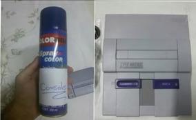 Spray Cinza Nintendo Console