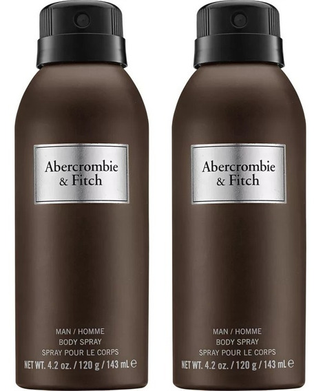 2 - Body Spray First Instinct Abercrombie & Fitch 143 Ml