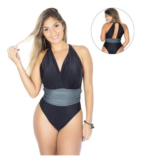 Body/ Maiô Feminino Faixa Moda Praia Verão 2018 Várias Cores