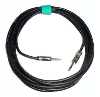 Cable Mini Plug 3,5 A 3,5 Estereo Fichas Neutrik X 20 Mts