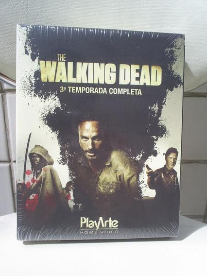 Blue Ray The Walking Dead - 3ª Temporada - Novo Lacrado