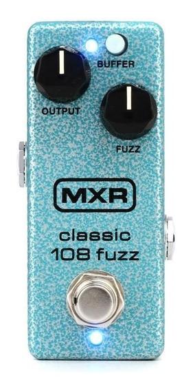 Pedal Fuzz Dunlop Mxr M296 Classic 108 Fuzz Mini C/ Nf-e