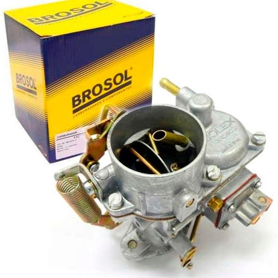 Carburador Fusca 1500 1600 Gasolina H30 Original Brosol Novo
