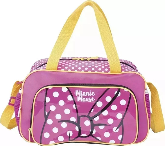 Bolsa Sacola Infantil Minnie Mouse Rosa Sestini 19y G 2019