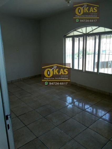 Casa Com 1 Dormitório Para Alugar Por R$ 900/mês - Vila Amorim - Suzano/sp - Ca0346