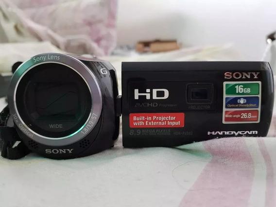 Filmadora Sony Hdr Pj 230 Fullhd Projetor